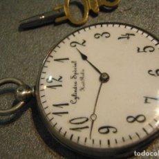 Relojes de bolsillo: BOLSILLO SABONETTA CYLINDRE SPÉCIAL 1890 B397A. Lote 94323807