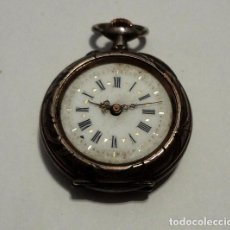 Relojes de bolsillo: RELOJ DE PLATA DE MUJER. Lote 82396748