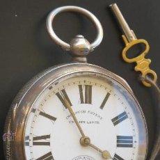 Relojes de bolsillo: RELOJ CATALINO - PLATA. Lote 83341748