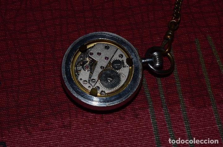 Relojes de bolsillo: RELOJ DE BOLSILLO THERMIDOR, CUERDA, 17 RUBIS - Foto 3 - 73447383