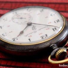 Relojes de bolsillo: ANTIGUO RELOJ DE BOLSILLO CHRONOMÈTRE BOUTON D´OR. Lote 83728984