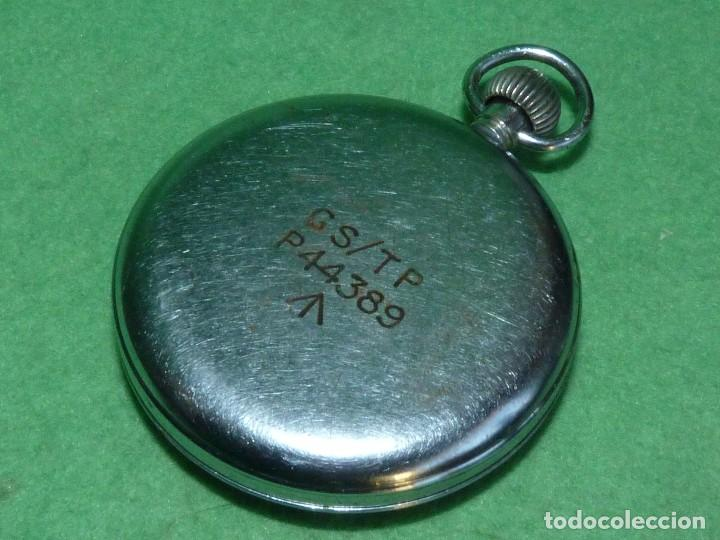 Relojes de bolsillo: Bello reloj militar HELVETIA 15 rubis años 40 calibre 32A Dugena 230 swiss made 2ªWW marcajes GSTP - Foto 4 - 83880752