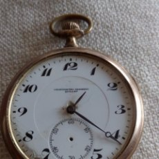 Relojes de bolsillo: RELOJ DE BOLSILLO CRONÓMETRO MODERNO QUILLET. Lote 85954500