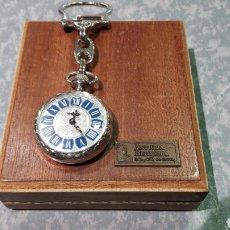 Relojes de bolsillo: RELOJ LLAVERO CARGA MANUAL 1970 A ESTRENAR. Lote 97533012