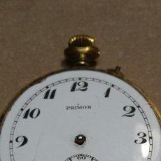 Relojes de bolsillo: RELOJ ANTIGUO DE BOLSILLO PRIMOR CHAPADO EN ORO PARA RESTAURAR. Lote 86377410