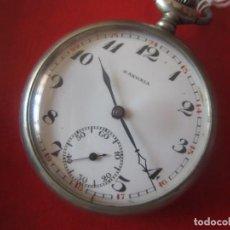 Relojes de bolsillo: RELOJ DE BOLSILLO MARCA S. AXONIA. Lote 86424460