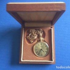 Relojes de bolsillo: RELOJ HALCON 17 RUBIS MADE IN SUIZA DECADA 70 A 80 QUE SE ENTREGABA EN LOS PREMIOS GOYA. Lote 86729060