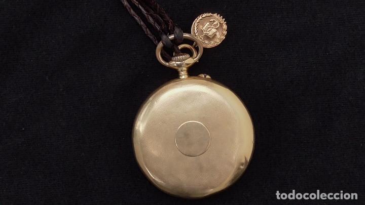 Relojes de bolsillo: RELOJ LONGINES ORO 18 K. FUNCIONA PERFECTAMENTE - Foto 4 - 94630740