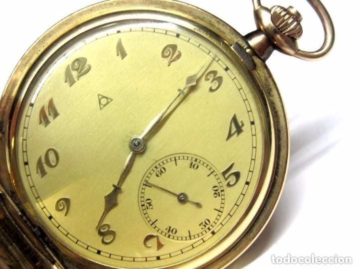 Relojeros SuizoAlpina Funcionado Double Reloj Microns SuizosWalz De Saboneta Corporacion Gold 40 A3Rj5L4q