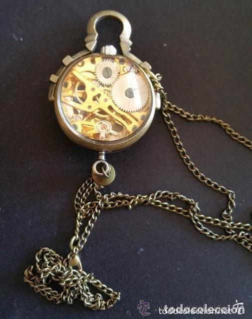 Relojes de bolsillo: RELOJ DE BOLA DE CRISTAL A CUERDA NO CUARZO ,FUNCIONANDO - Foto 2 - 176214073