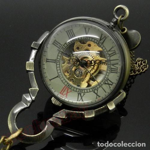 Relojes de bolsillo: RELOJ DE BOLA DE CRISTAL A CUERDA NO CUARZO ,FUNCIONANDO - Foto 3 - 176214073