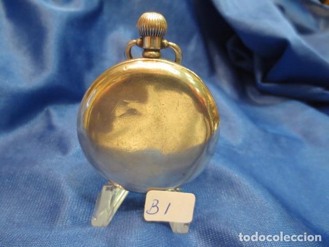 Relojes de bolsillo: RELOJ DE PLATA FUNCIONANDO - Foto 2 - 88160604