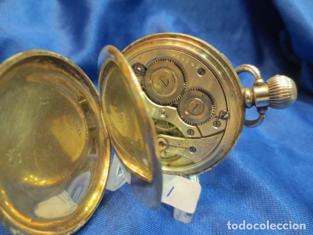 Relojes de bolsillo: RELOJ DE PLATA FUNCIONANDO - Foto 3 - 88160604