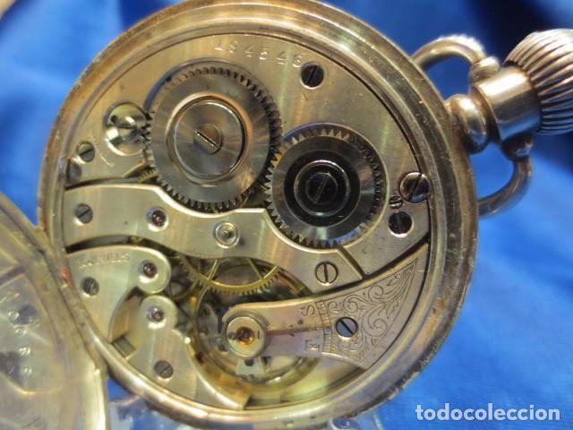 Relojes de bolsillo: RELOJ DE PLATA FUNCIONANDO - Foto 5 - 88160604