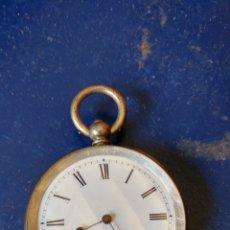 Relojes de bolsillo: RELOJ DE BOLSILLO DE PLATA DE LEY VAUME GENEVE.. Lote 89100291