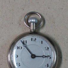 Relojes de bolsillo: RELOJ DE BOLSILLO CARGA MANUAL SWISS MADE FUNCIONANDO. Lote 89420880