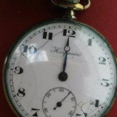 Relojes de bolsillo: ANTIGUO RELOJ DE BOLSILLO HISPANIA EN PLATA.. Lote 90787025