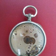 Relojes de bolsillo: ANTIGUO RELOJ DE BOLSILLO INCOMPLETO.. Lote 90823025