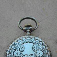 Relojes de bolsillo: RELOJ DE BOLSILLO PLATA ANCRE REMONTOIR 15 RUBIS - JUAN JANINI VILLANUEVA Y GELTRÚ -. Lote 91852860
