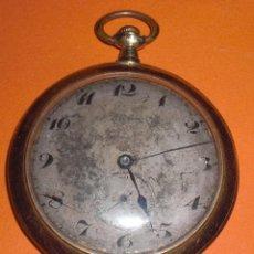 Relojes de bolsillo: ANTIGUO RELOJ CHAPADO ORO ELECTION. Lote 91967890