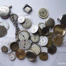 Relojes de bolsillo - GRAN LOTE DE RELOJES DE BOLSILLO Y PIEZAS VEA FOTOS PW15 - 92194710
