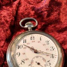 Relojes de bolsillo: RELOJ ALEMÁN DE BOLSILLO - AÑOS 30 - FUNCIONA. Lote 92246500