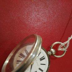 Relojes de bolsillo: ENORME GOLIAT Y GRUESO RELOJ BOLSILLO PATENT LEVER IINGLATERRA SIGLO XVIII ESCAPE COMPENSADO TEMPERA. Lote 93383950