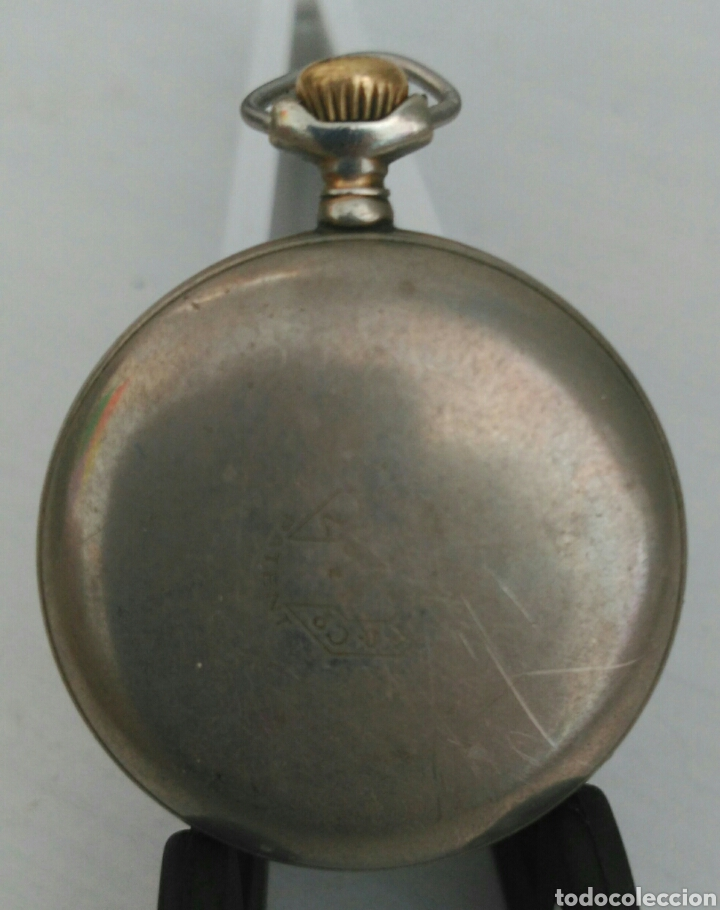 Relojes de bolsillo: ÚNICO RELOJ DE BOLSILLO ROSSKOPF. FUNCIONANDO. PINTADO A MANO DE PRINCIPOS DE SIGLO. SUIZA - Foto 6 - 94155727