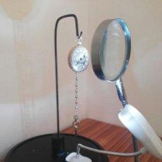 Relojes de bolsillo: RELOJ BOLSILLO CATALINO DE ORO 22 KL DE 27/05/1709 MARCA DECHOUDENS. ES UNA PIEZA ESPECIAL, FUNCIONA. Lote 77260281