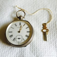 Relojes de bolsillo: BONITO RELOJ DE BOLSILLO EN PLATA FUNCIONANDO. Lote 94790752