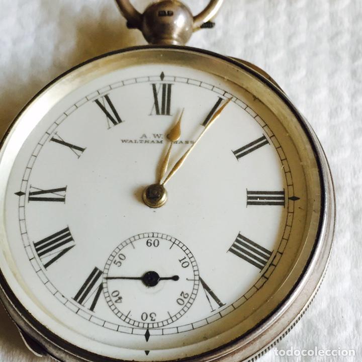Relojes de bolsillo: Bonito reloj de bolsillo en plata funcionando - Foto 2 - 94790752