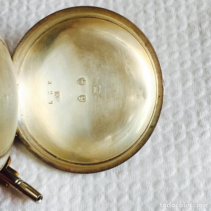 Relojes de bolsillo: Bonito reloj de bolsillo en plata funcionando - Foto 3 - 94790752