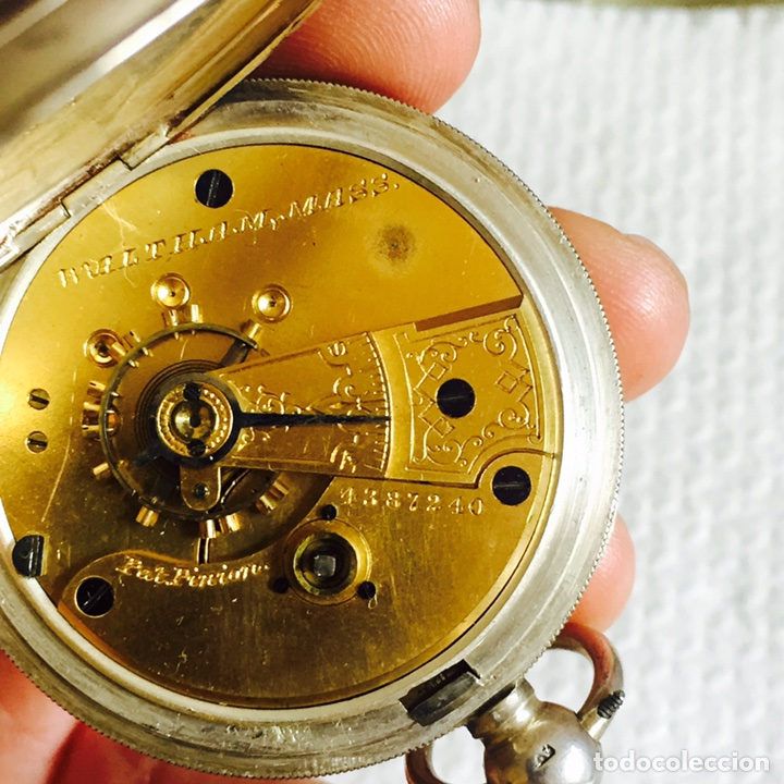 Relojes de bolsillo: Bonito reloj de bolsillo en plata funcionando - Foto 5 - 94790752