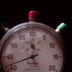 Relojes de bolsillo: CRONOMETRO ALEMAN HANHART -SUPER DE LOS AÑOS 60, FUNCIONAL. Lote 94948439
