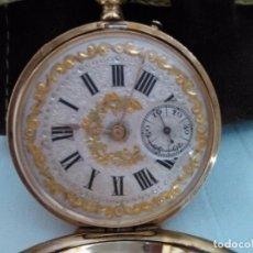 Relojes de bolsillo: RELOJ DE ORO, TRES TAPAS.. Lote 95199751