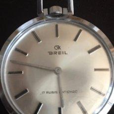 Relojes de bolsillo: RELOJ BREIL FUNCIONA. Lote 95309515