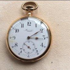 Relojes de bolsillo: RELOJ DE BOLSILLO EN ORO ROSA MINERVA. Lote 95560739