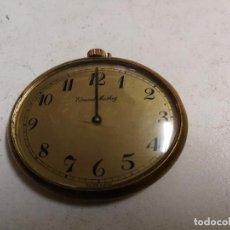 Relojes de bolsillo: ANTIGUO RELOJ SUIZO MARCA EDMOND MATHEY. Lote 95631275