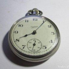 Relojes de bolsillo: RELOJ SUIZO CASTAIN FUNCIONANDO PERFECTAMENTE 51 MM SIN CONTAR LA CORONA . Lote 95887747