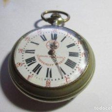 Relojes de bolsillo: RELOJ ROSKOPF GRAN TAMAÑO 58 MM SIN CONTAR LA CORONA FUNCIONANDO BUENA ESFERA . Lote 95889083