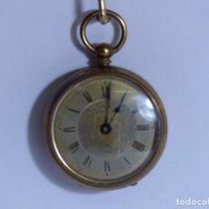 Relojes de bolsillo: ,,,CURIOSO LLAVERO LATÓN ,,, IVY -SWISS MADE ( B - 26 ). Lote 96615579