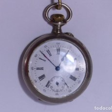 Relojes de bolsillo: ,,,RELOJ DE BOLSILLO,,,ALPACA DOS TAPAS,, ( B - 9 ). Lote 96618367