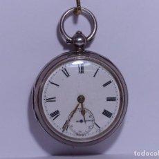 Relojes de bolsillo: ,,,LLAVERO REVERSING - PINION,,,PLATA SELLADA DOS TAPAS,,. ( B - 25 ). Lote 96651835
