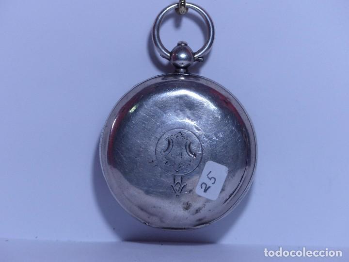 Relojes de bolsillo: ,,,LLAVERO REVERSING - PINION,,,PLATA SELLADA DOS TAPAS,,. ( B - 25 ) - Foto 2 - 96651835