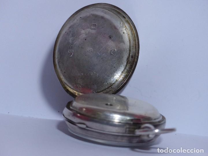 Relojes de bolsillo: ,,,LLAVERO REVERSING - PINION,,,PLATA SELLADA DOS TAPAS,,. ( B - 25 ) - Foto 3 - 96651835
