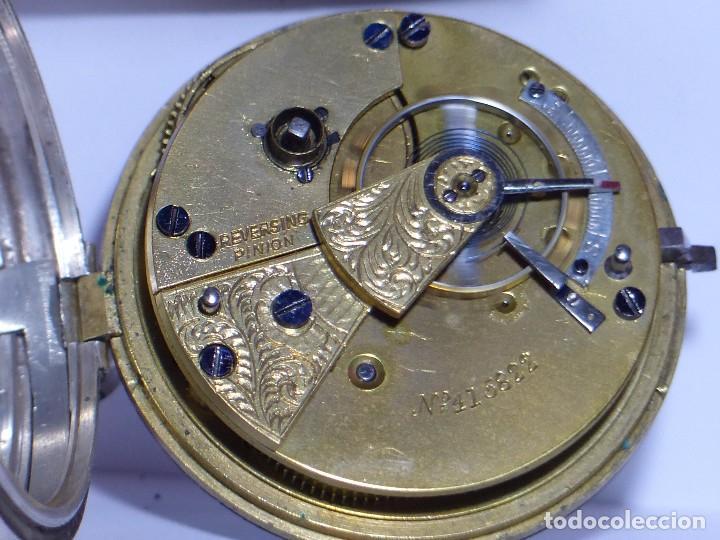 Relojes de bolsillo: ,,,LLAVERO REVERSING - PINION,,,PLATA SELLADA DOS TAPAS,,. ( B - 25 ) - Foto 6 - 96651835