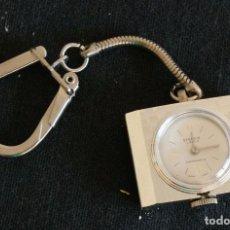 Relojes de bolsillo: RELOJ LLAVERO AÑOS 70. Lote 96716963