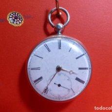 Relojes de bolsillo: ,,,SEMICATALINA,,,PLATA SELLADA,,,FUNCIONANDO,,,( B - 25 ). Lote 97138891
