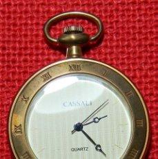 Relojes de bolsillo: RELOJ DE BOLSILLO LEPINE CON PULSADOR EN LA CORONA - QUARTZ - 48 MM. Lote 185984090