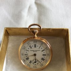 Relojes de bolsillo: RELOJ DE BOLSILLO VACHERON CONSTANTIN SEÑORA EN ORO 18 KL. Lote 98070099
